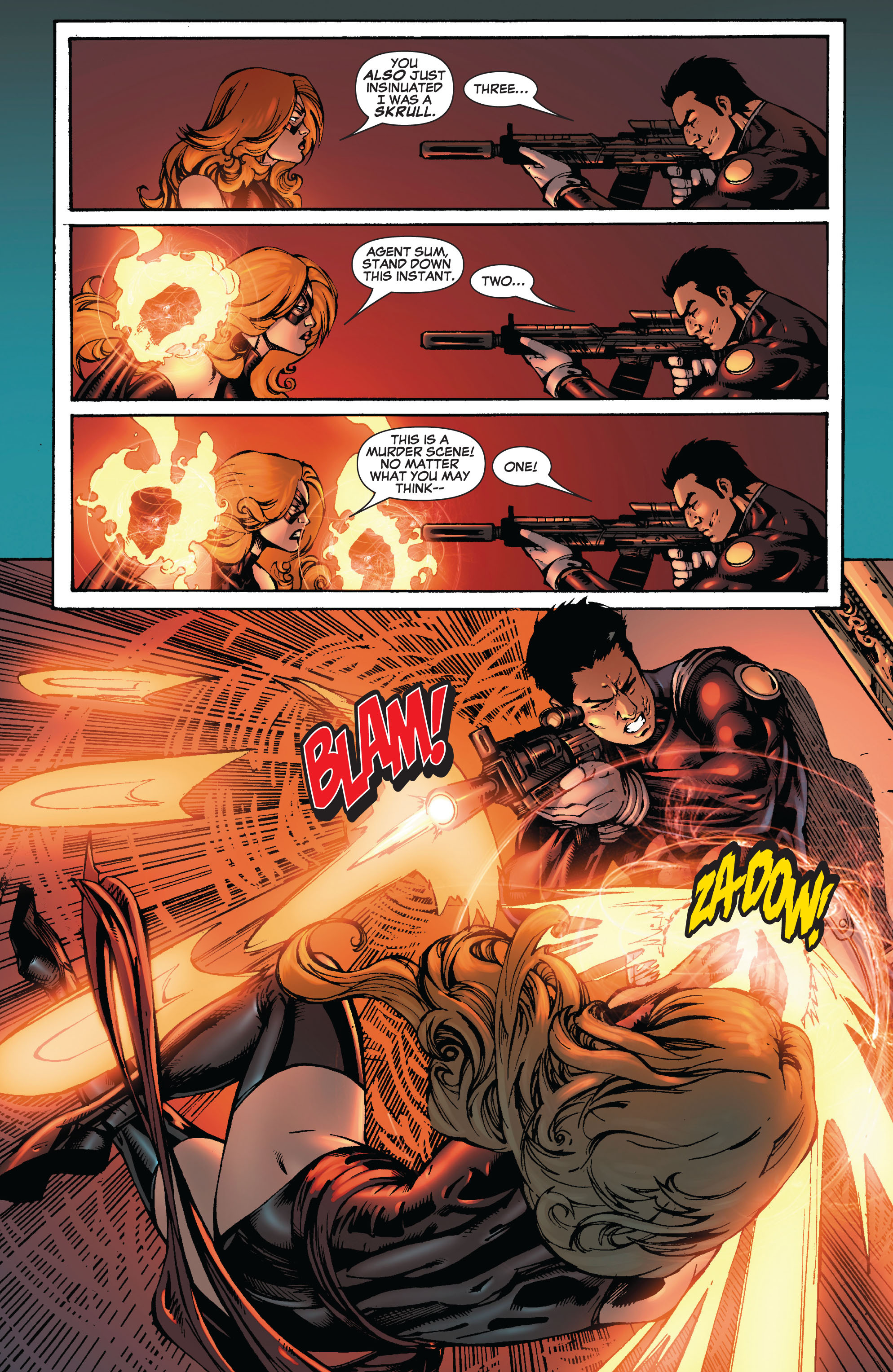Read online Secret Invasion: The Infiltration comic -  Issue #9 - 5