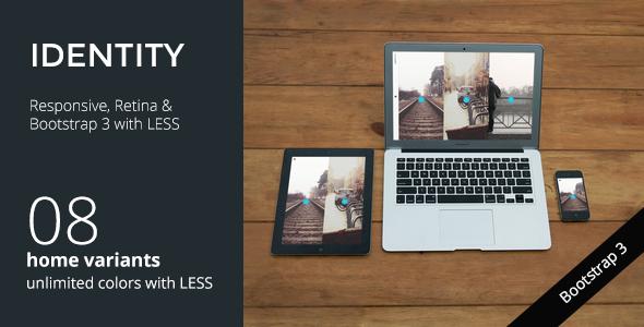Free Download IDENTITY Responsive Multi-Purpose Portfolio Wordpress Theme