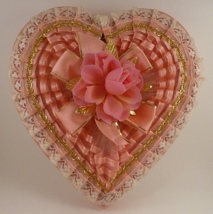 vintage valentine candy boxes - Vintage Valentine Decorations