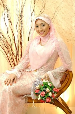 Modern Muslim Wedding Dress