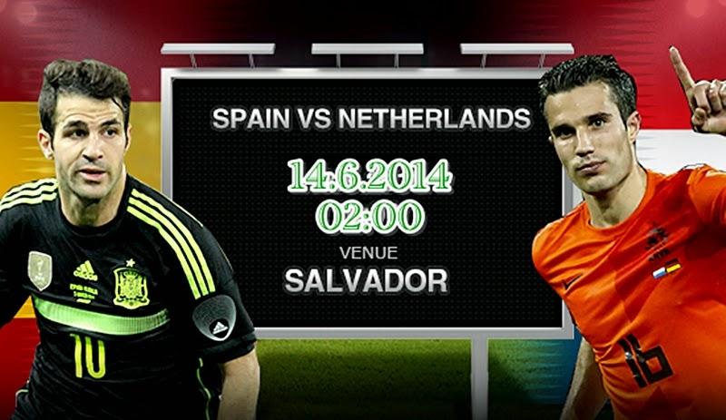 Prediksi Pertandingan Spanyol vs Belanda - Tebak Skor | Susunan Pemain