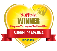 Winner Of Saffola #apnetarikesehealthy