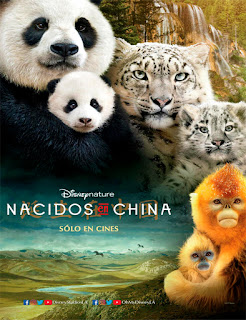 Ver Nacidos en China (Born in China)  (2016) película Latino