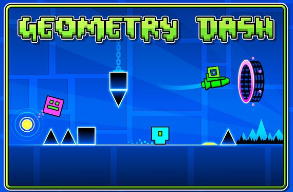 Fun Brain Training App - Geometry Dash