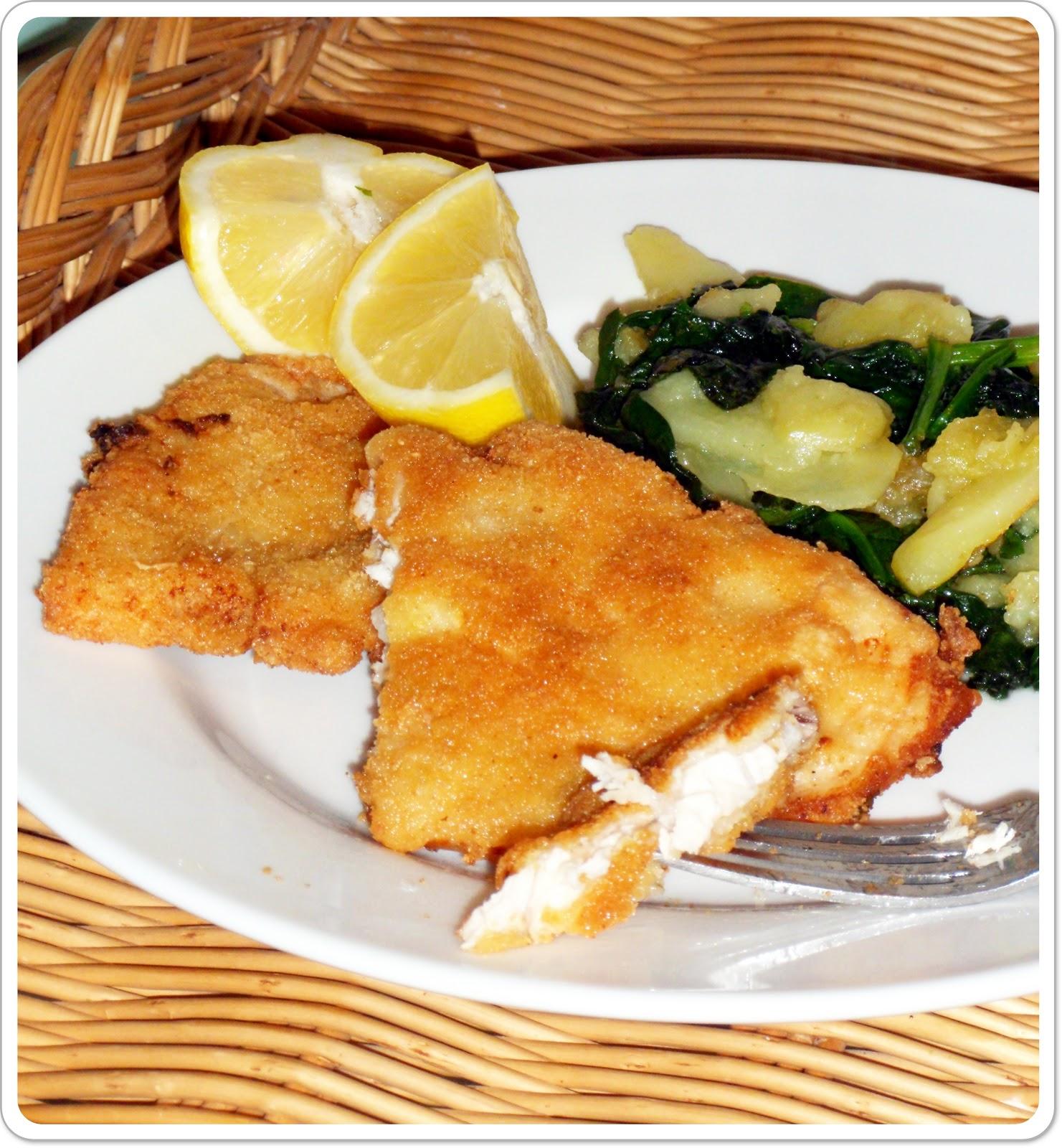 Cocinando un abril encantado emperador empanado o for Cocinar pescado para ninos