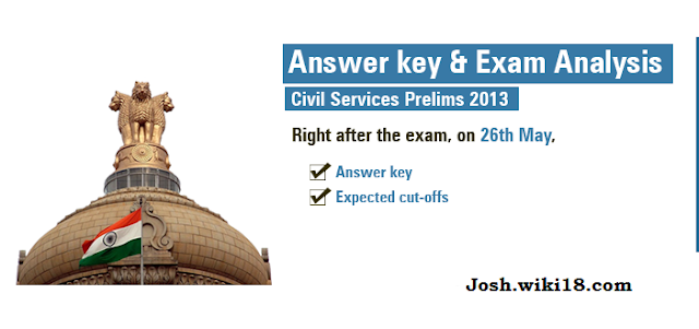 CSAT 2013 ANSWER KEY