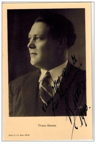 BELGIAN TENOR THÉO BEETS (1897 - 1982) CD