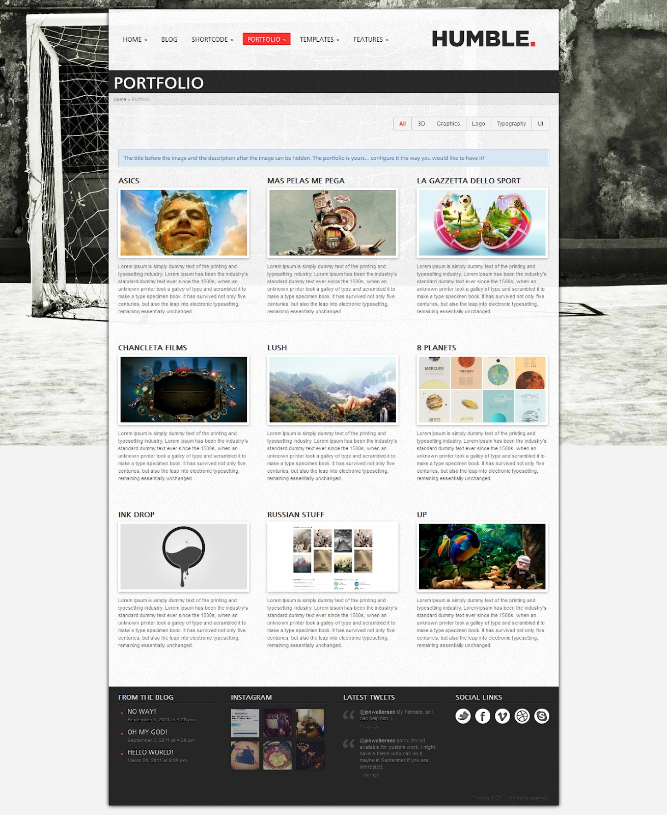 Humble-Portfolio-and-Business-Pages