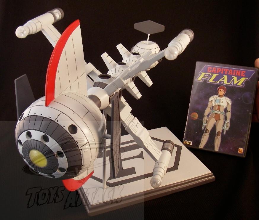 maquette vaisseau capitaine flam