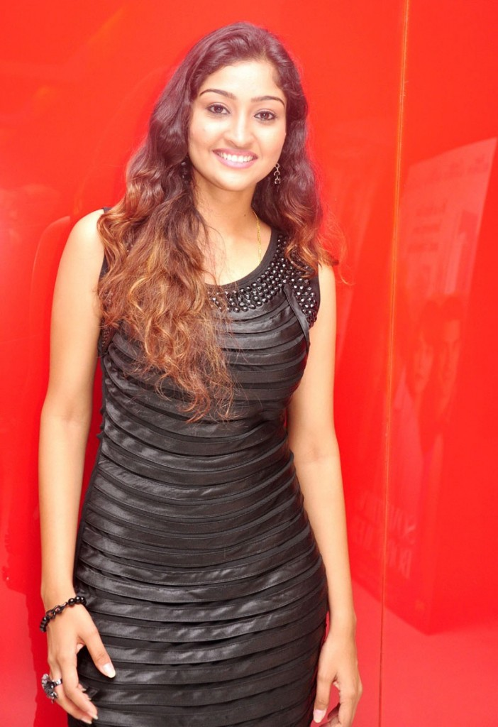 Neelima Rani in Black Sleeveless & Black Leggings, Tamilian Actress