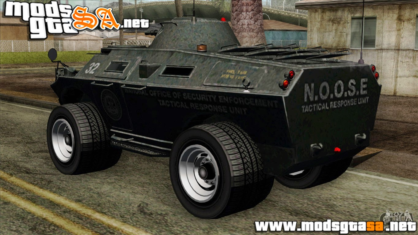 SA - TBoGT Swatvan v2 do GTA IV
