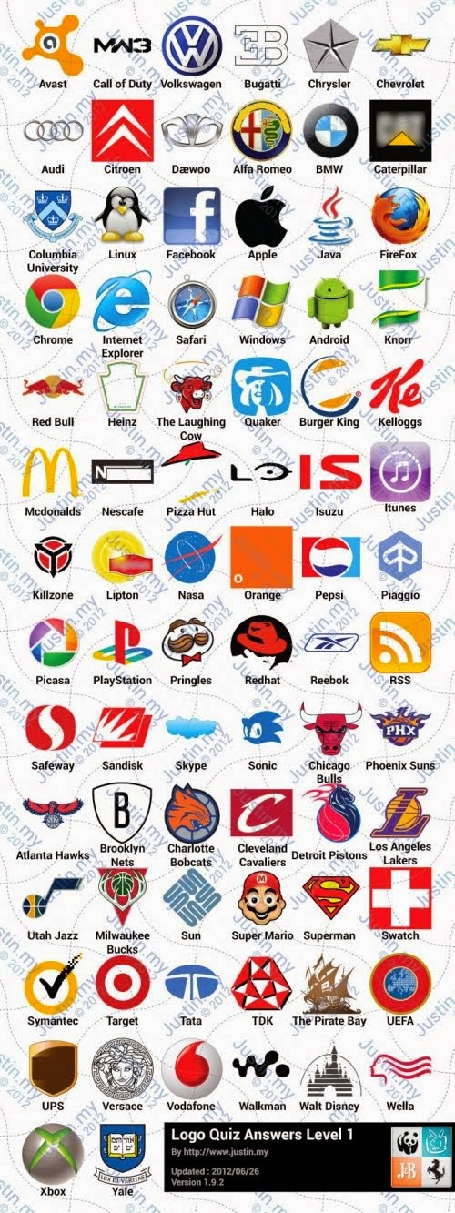 The logo game answers level 10 ipad