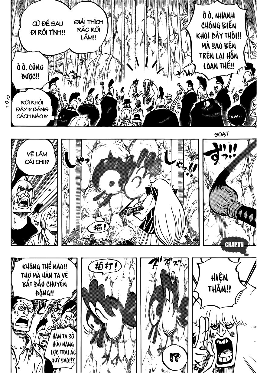 One Piece Chapter 754: Rất vui khi gặp lại cậu 004