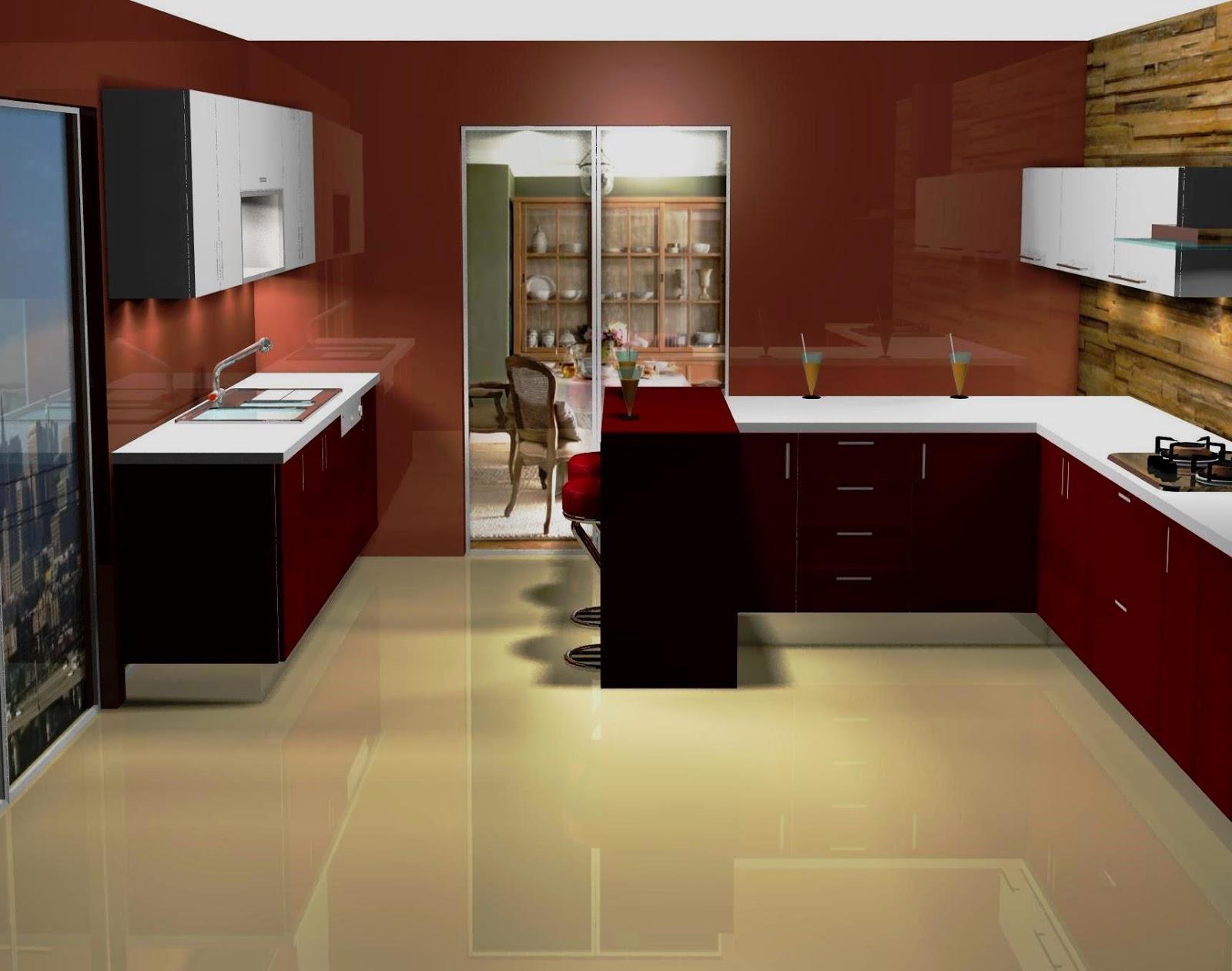Excepcional Blanco De Diseño Muebles De Cocina Festooning - Como ...