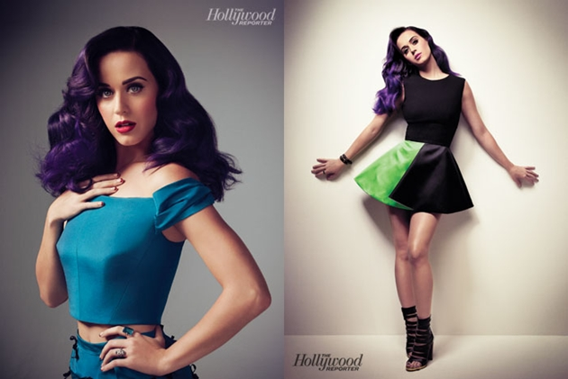 Katy Perry pattern cover of Hollywood Reporter See photos photo 2