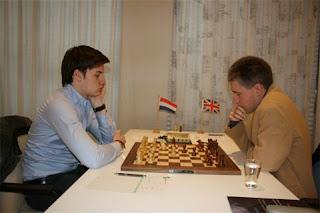 Echecs : Robin Van Kampen crée la sensation en battant ronde 1 Michael Adams © site officiel
