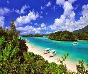 Kondoi, Coral beach Okinawa, jepang