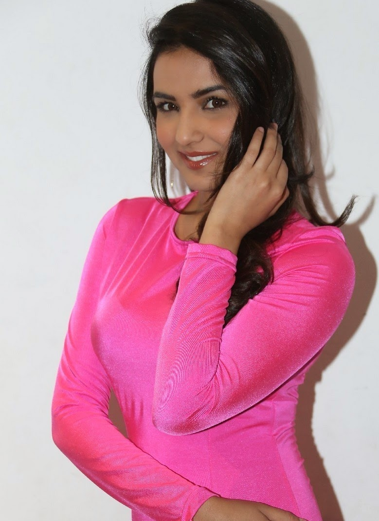 Actress Jasmine Latest Cute Hot Exclusive Pink Dress Spicy Photos Gallery