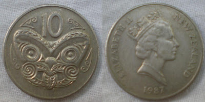 new zealand 10 cent 1987