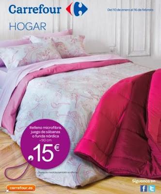 catalogo carrefour rebajas hogar enero-feb 2014