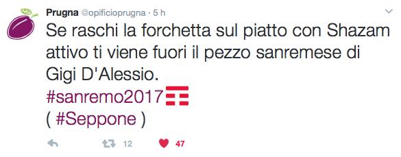 Satira su Prugna twitter!