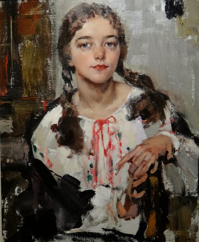 Eya Fechin by Nicolai Fechin