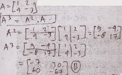 matriks pangkat tiga