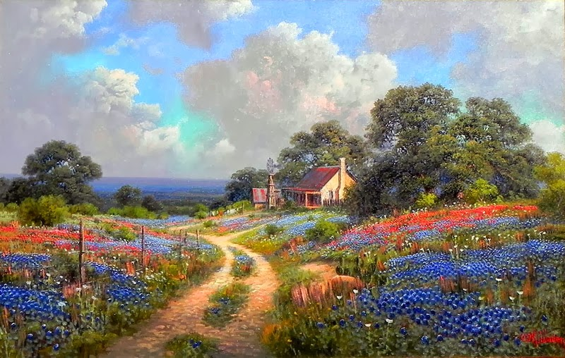 знакомство с искусством живопись картиной