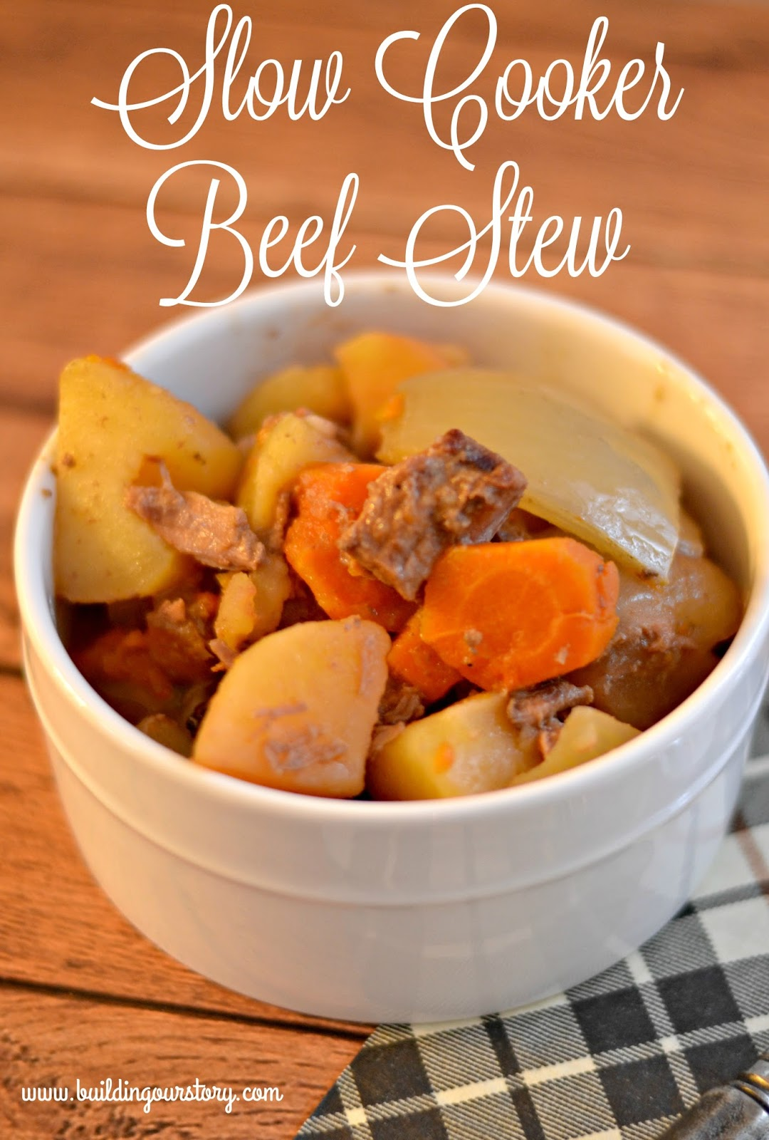 Easy Slow Cooker Beef Stew Recipe Fall Soup Recipes Beef Stew Recipe Easy