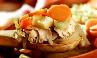 Receita Almoço de páscoa peixe assado com legumes
