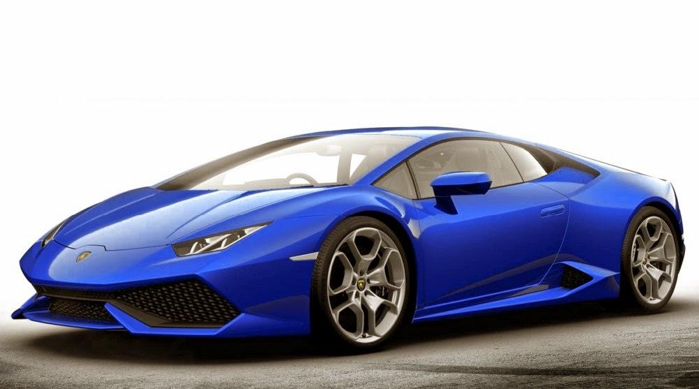 Lamborghini Huracan Wallpaper Blue