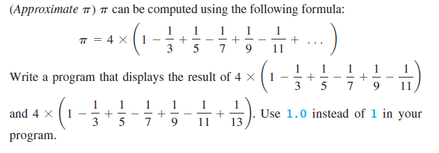 Approximate Value Of Pi