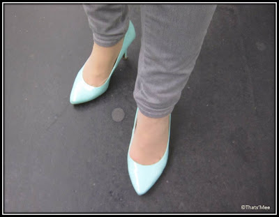 Escarpins turquoise New Look