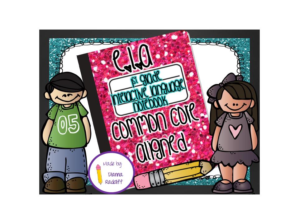 http://www.teacherspayteachers.com/Product/1st-Grade-Language-Interactive-Notebook-Common-Core-Aligned-1125210