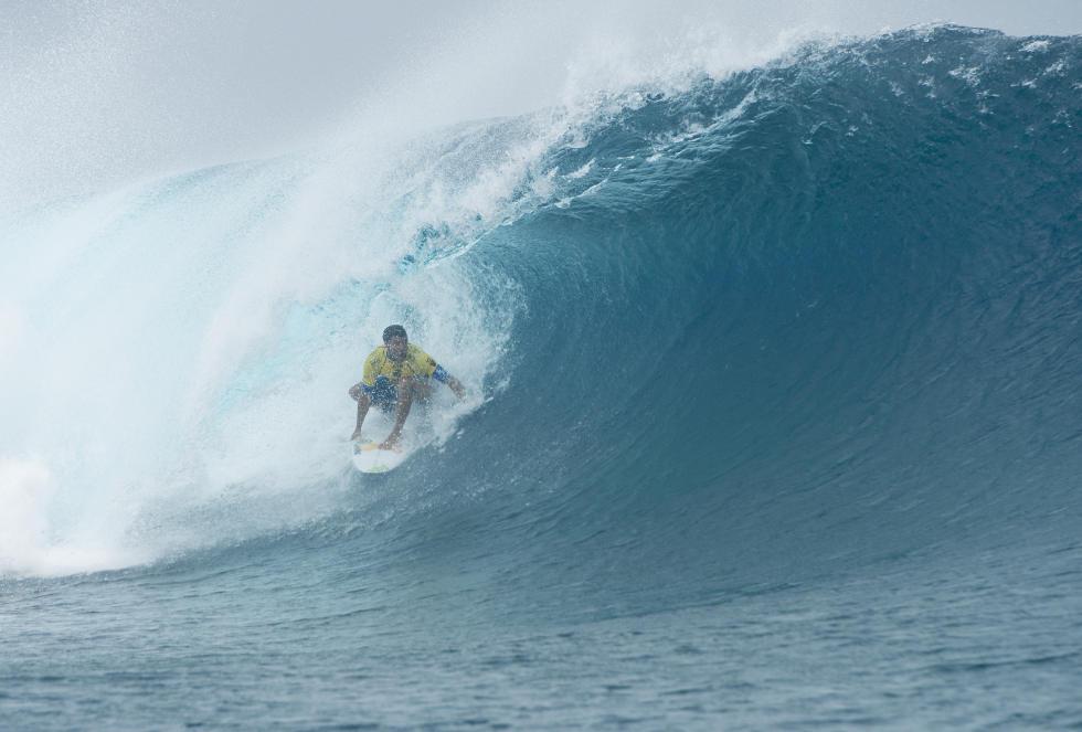 21 Adriano de Souza Billabong Pro Tahiti Foto WSL Stephen Robertson