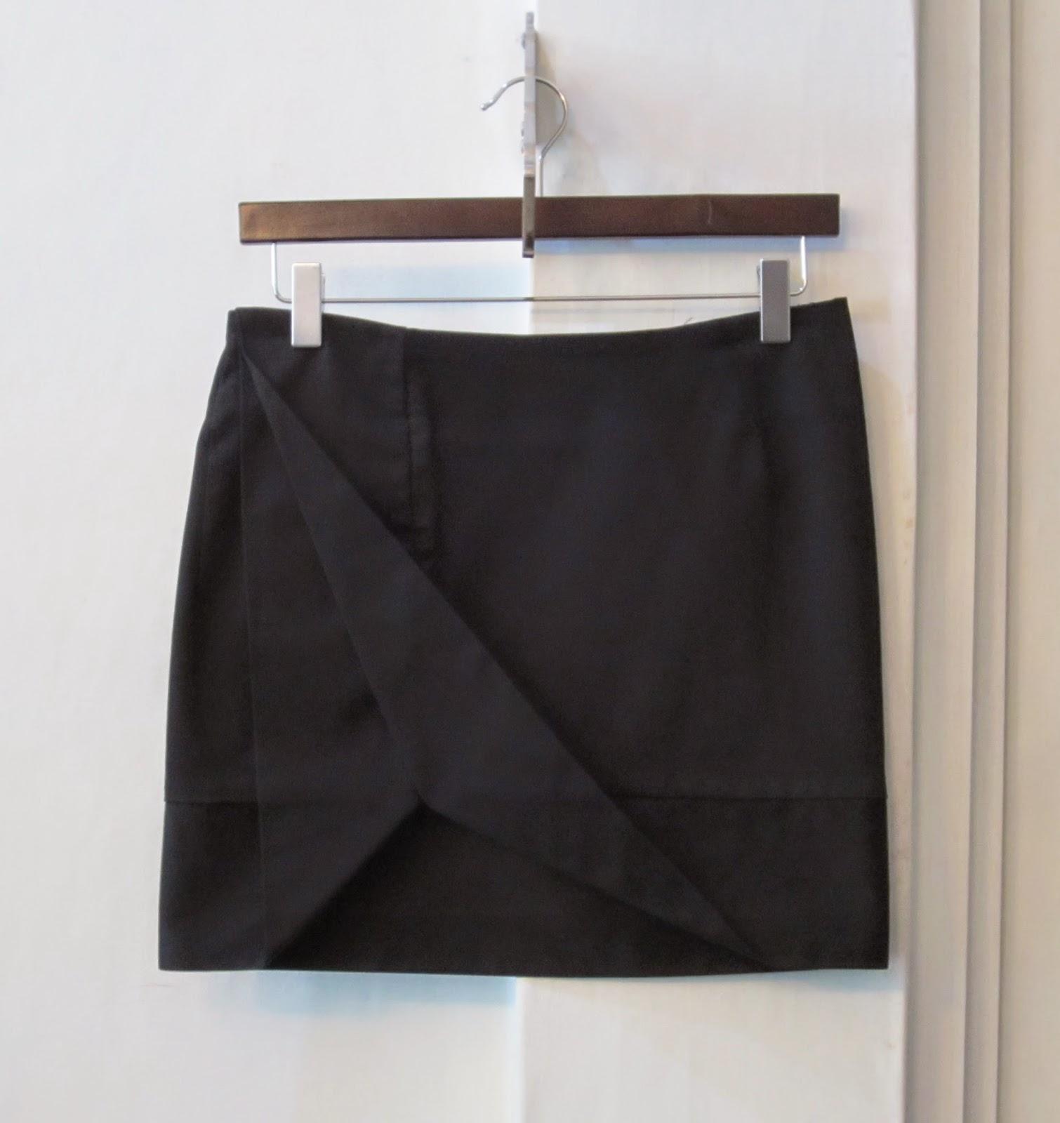 Vivienne Westwood Anglomania Black Skirt
