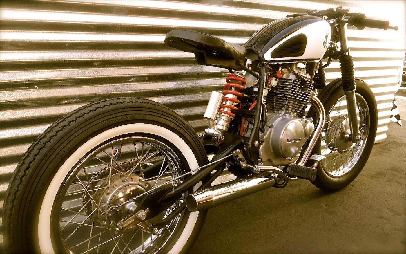Kawasaki KZ250 Bobber   Grease n Gas
