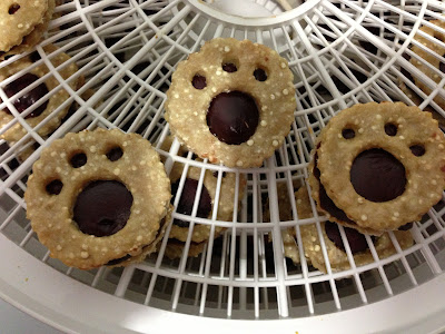 Tasty Tuesday: Chicken & Liver Linzer Cookies for Dogs
