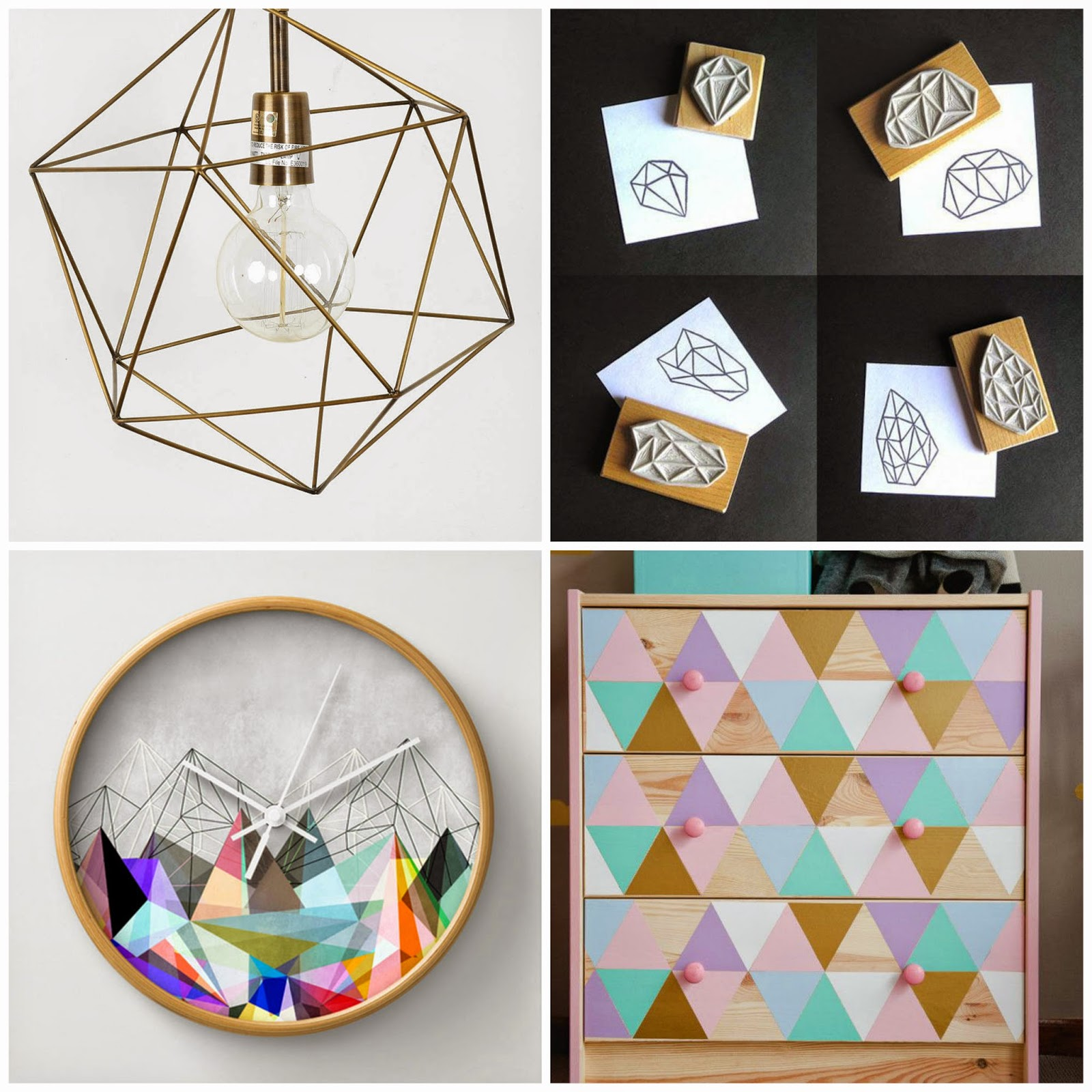 craft trend to watch triangles interior desing