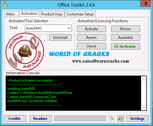 ms office 2013 activator toolkit v2.4.1 + ez-activator free download
