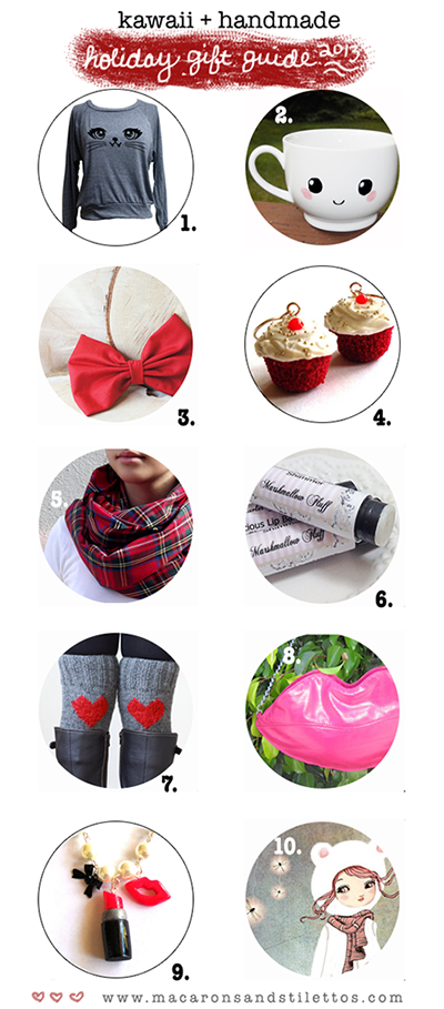 Kawaii and Handmade Gift Guide for Her 2013