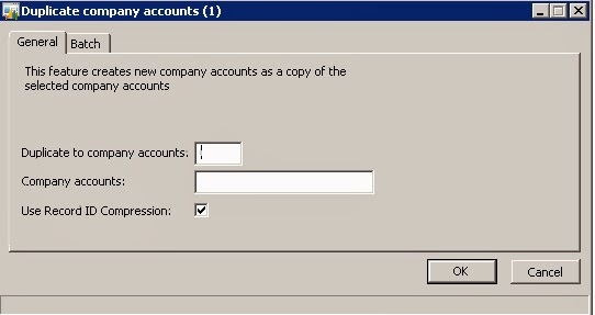 Duplicate company accounts