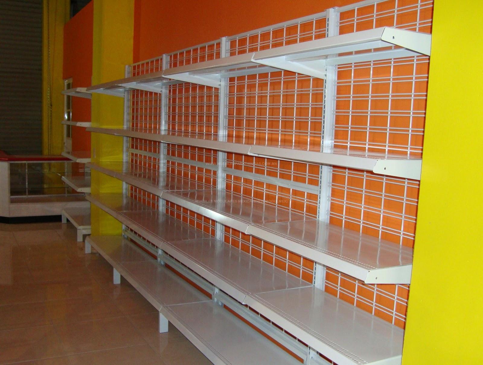 Estanteria metalica muebles metalicos y anaqueles for Muebles para negocio