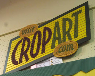 Marquee-like crop art reading Visit CropArt.com