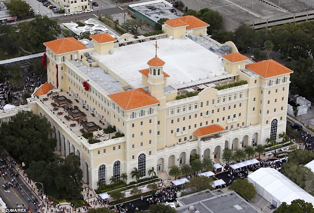 The house that Scientology built: Tom Cruise and John Travolta are in the front row to see opening of $145m cathedral where members will be trained to develop 'super powers'