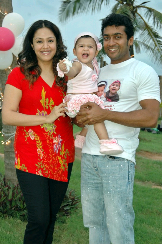 Surya celebrates son 39s Birthday in Style Deccan chronicle Article