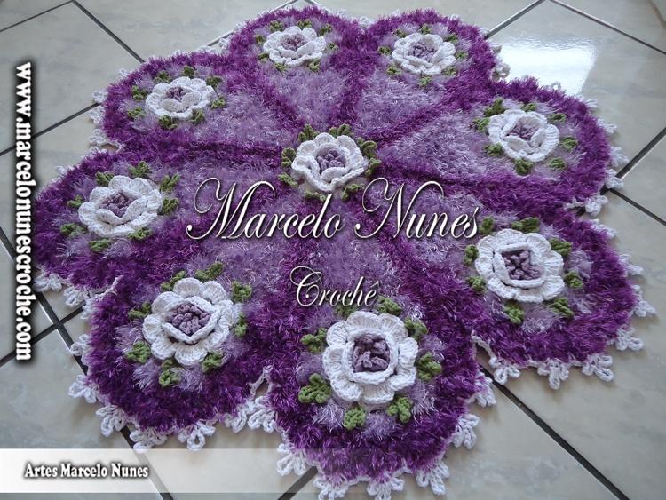 Flores De Croche Marcelo Nunes