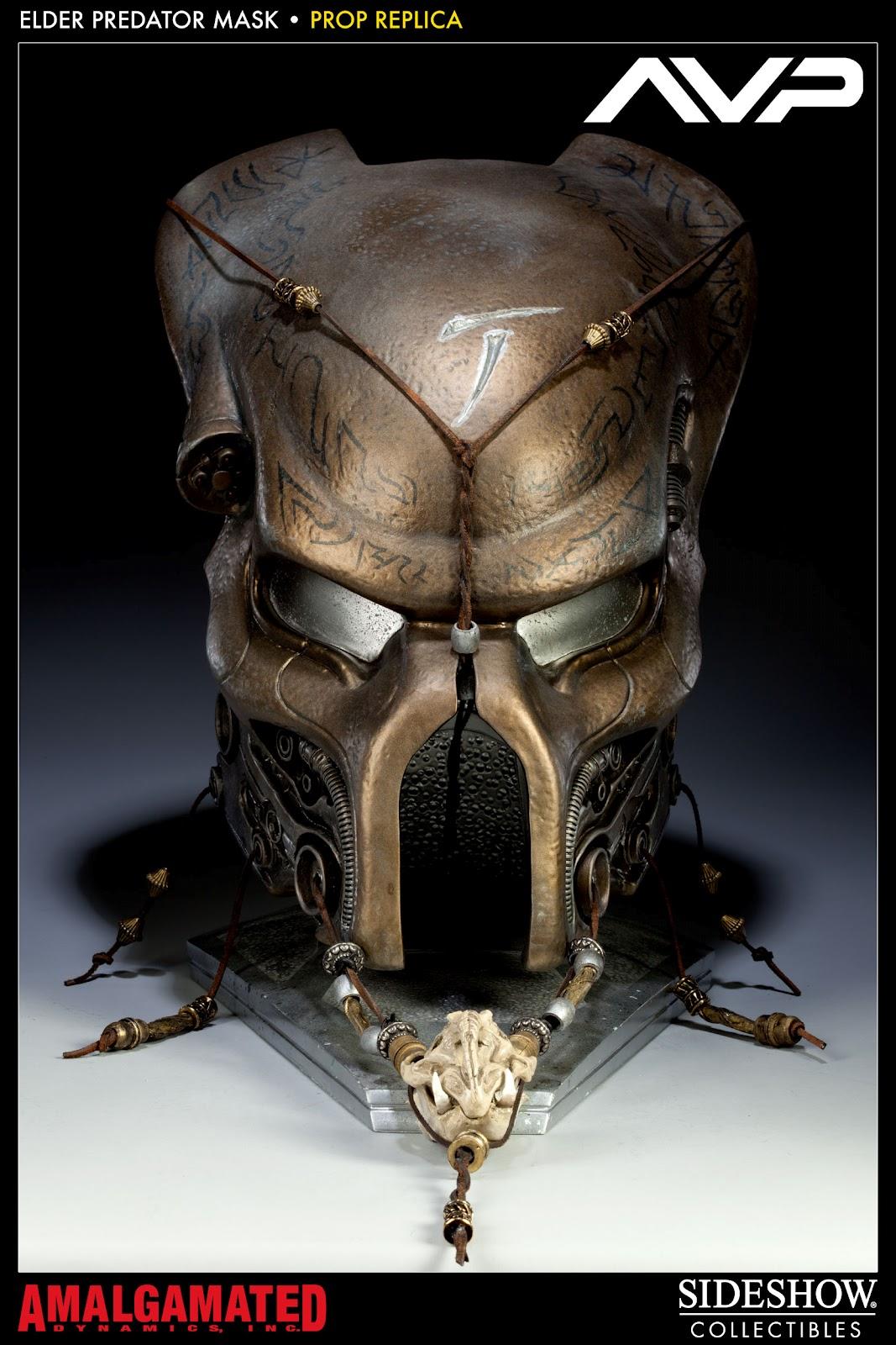 Elder Predator Mask Prop ReplicaWolf Predator Mask Sideshow