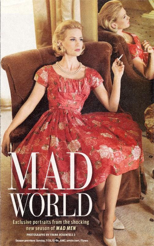 Mad Men Betty Dress