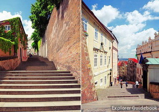 New Castle Stairs Prague Castle